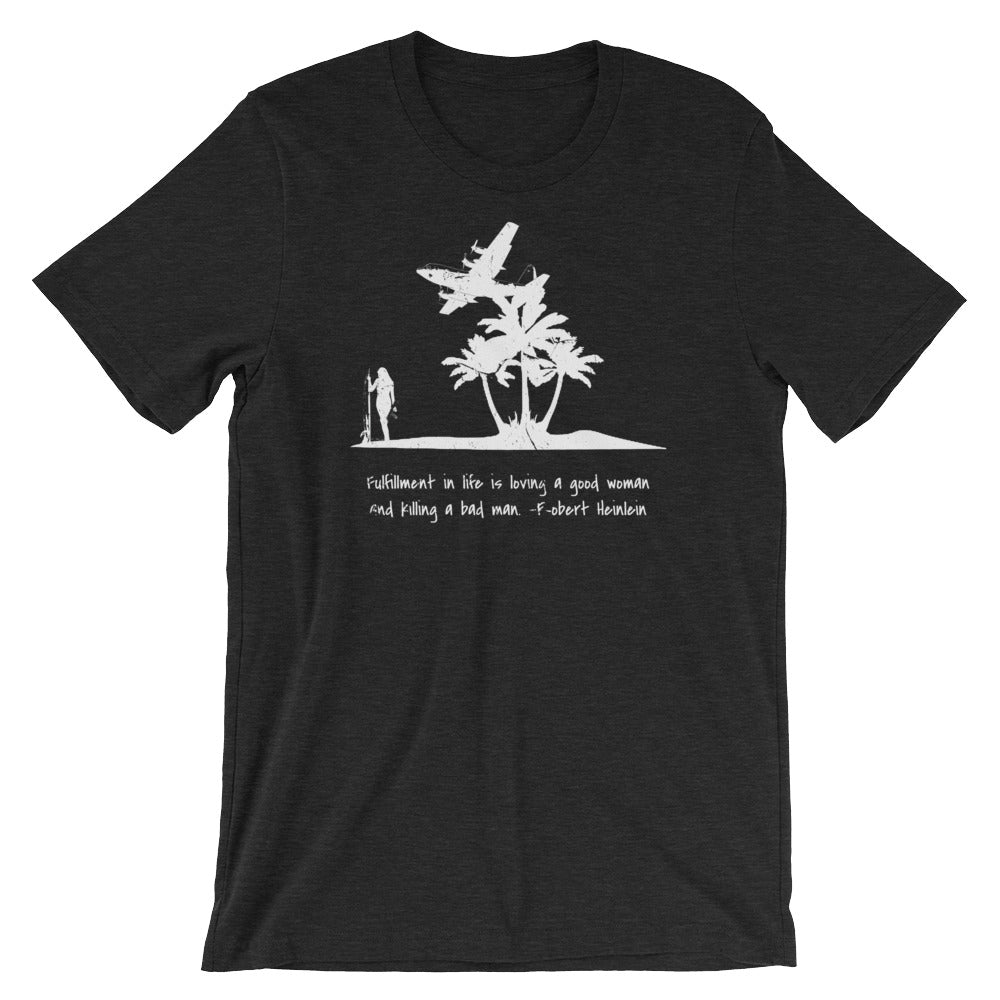 Killing a Bad Man Short-Sleeve Unisex T-Shirt