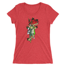Warriors and Mothers Redacted Dagger Ladies' short sleeve t-shirt