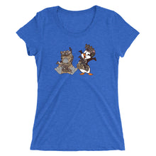 Battlepus and Jolly Green Penguin JTAC Ladies' short sleeve t-shirt