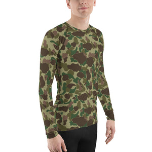 Dark Frog Skin Men's Rash Guard