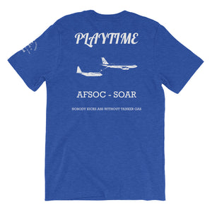 Playtime (Back Print) Short-Sleeve Unisex T-Shirt