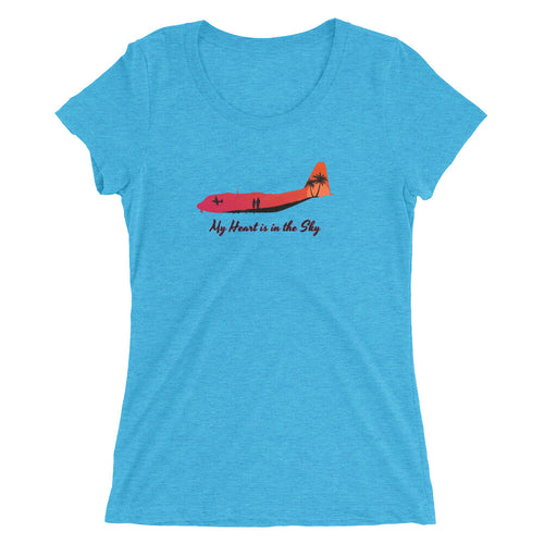 My Heart is in the Sky Ladies' short sleeve t-shirt