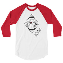 Peace Offering 3/4 sleeve raglan shirt