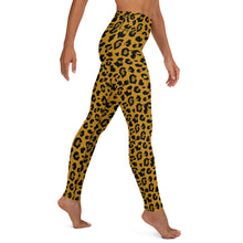 Deadly Leopard Print Yoga Leggings