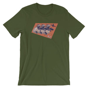 Enter The JTAC Short-Sleeve Unisex T-Shirt