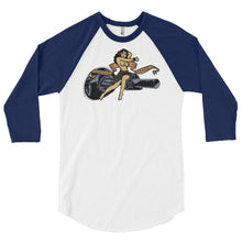 Danger Close Gunship 3/4 sleeve raglan shirt