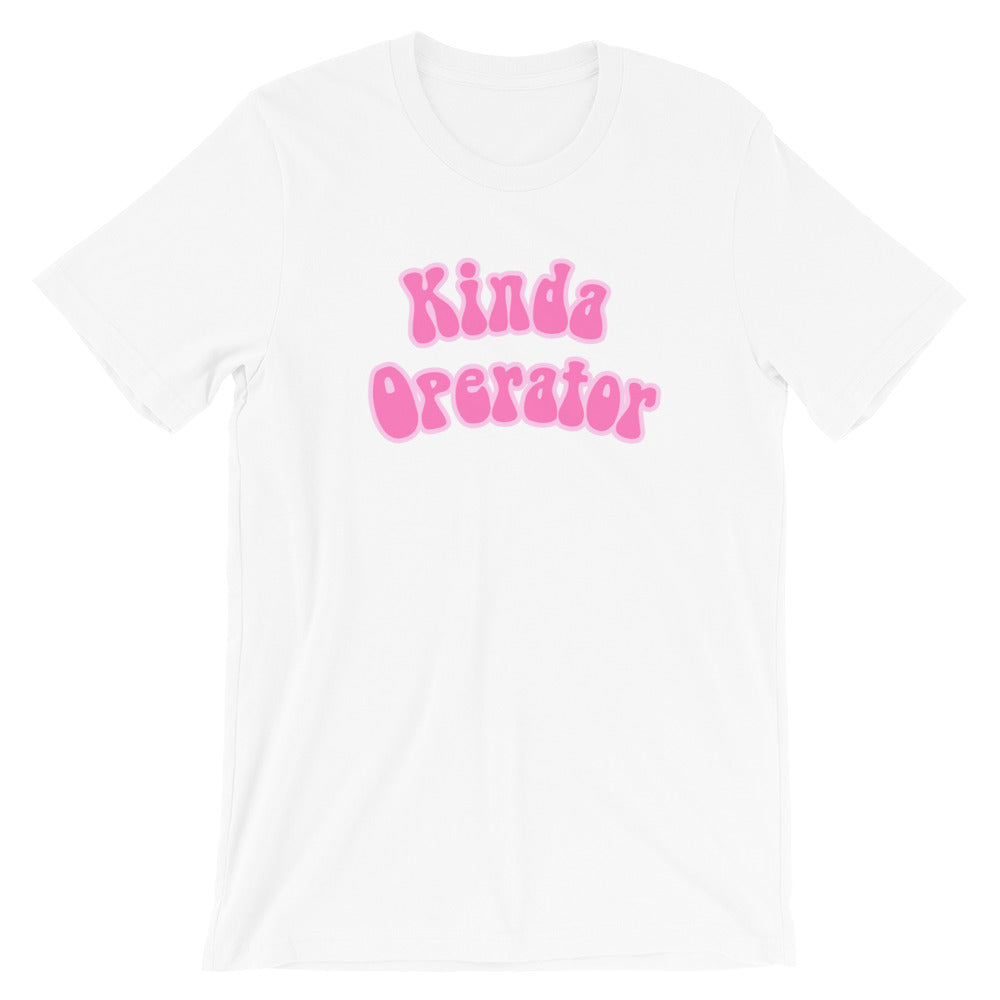Kinda Operator Short-Sleeve Unisex T-Shirt