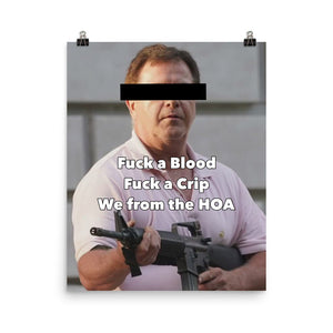 We from the HOA Poster