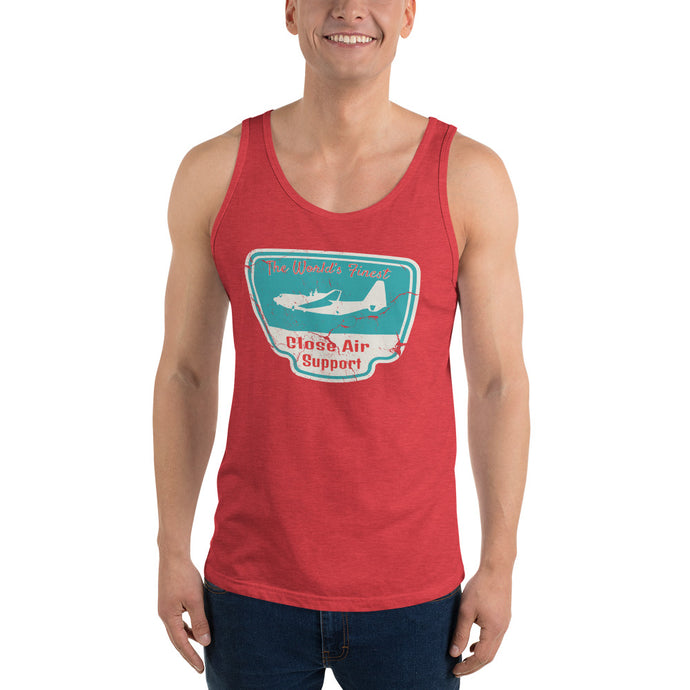 World's Finest Close Air Support Unisex  Tank Top
