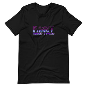 Keavy Metal Short-Sleeve Unisex T-Shirt