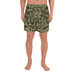 Frog Skin Men's Athletic Long Shorts