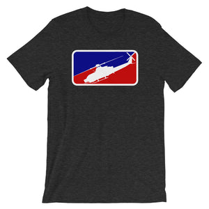 Major League AH-1Z Viper Short-Sleeve Unisex T-Shirt