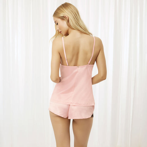 Angelica set aus Camisole und Shorts Crystal Rose
