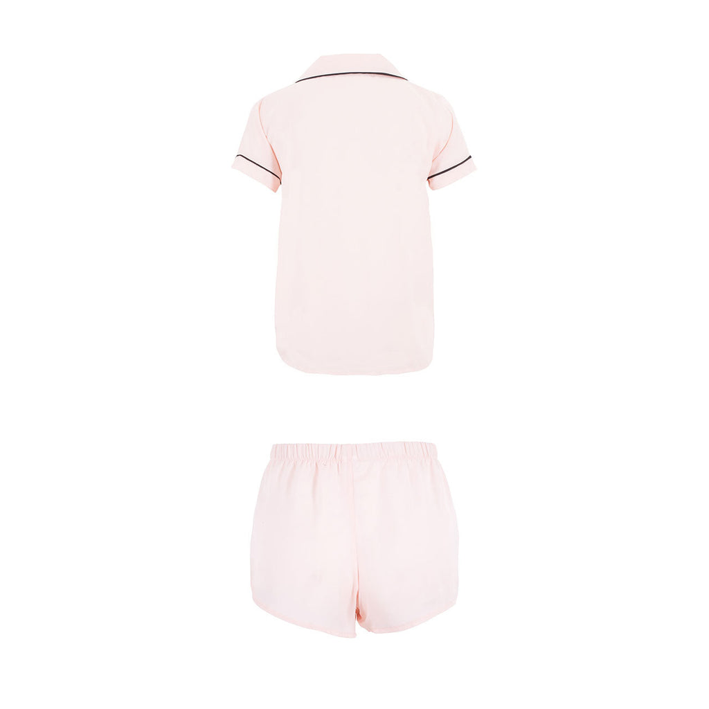 Kara Set Aus Shirt und Shorts Rose Dust