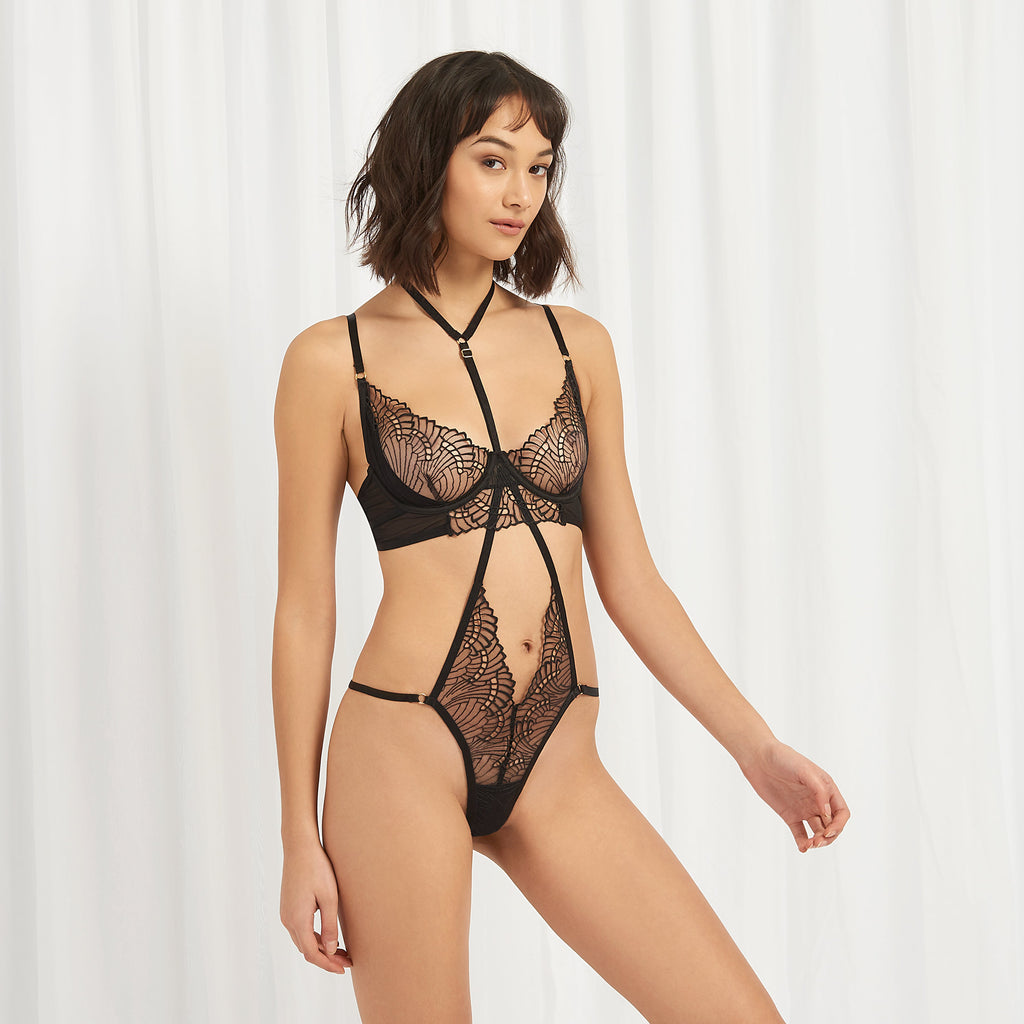 Selmar Harness-String Schwarz