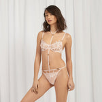 Priscilla Harness-String Rosa