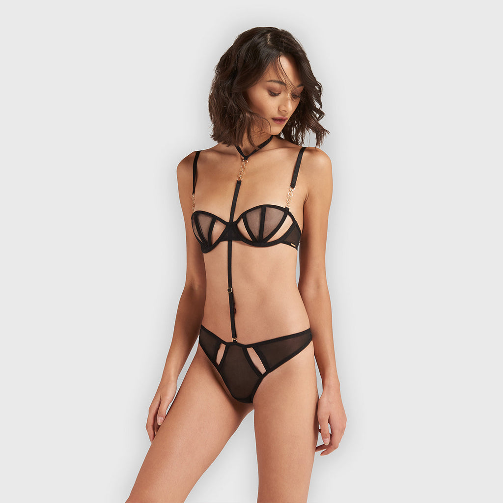 Orita Harness-string Schwarz