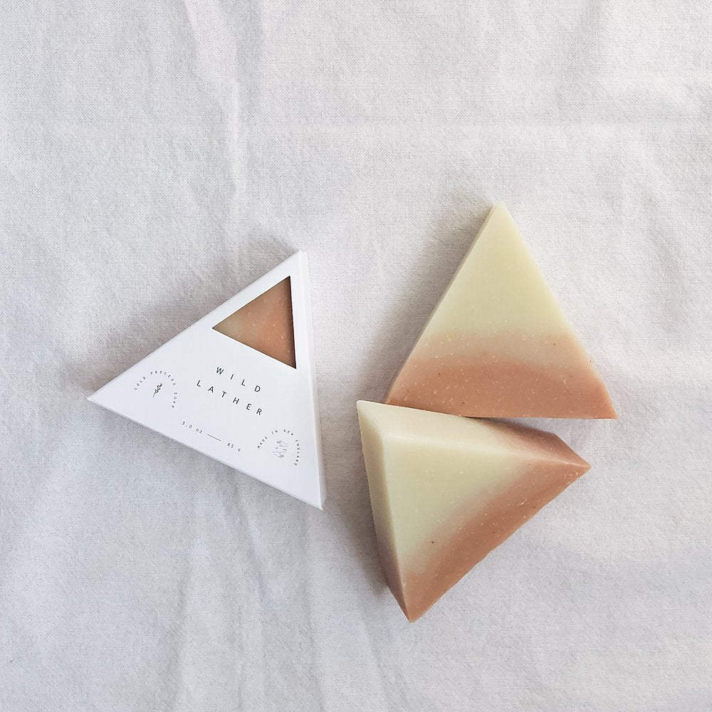 Wild Lather Soap Triangle
