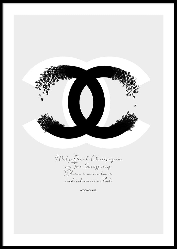 COCO CHANEL #3 POSTER