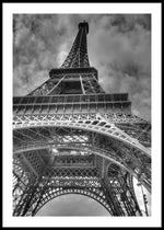 EIFFEL TOWER VERTICAL POSTER