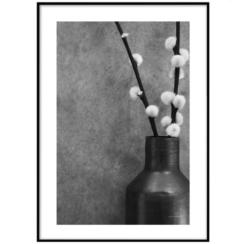 FLOWER BUDS POSTER