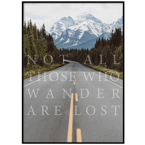 THOSE WHO WANDER POSTER