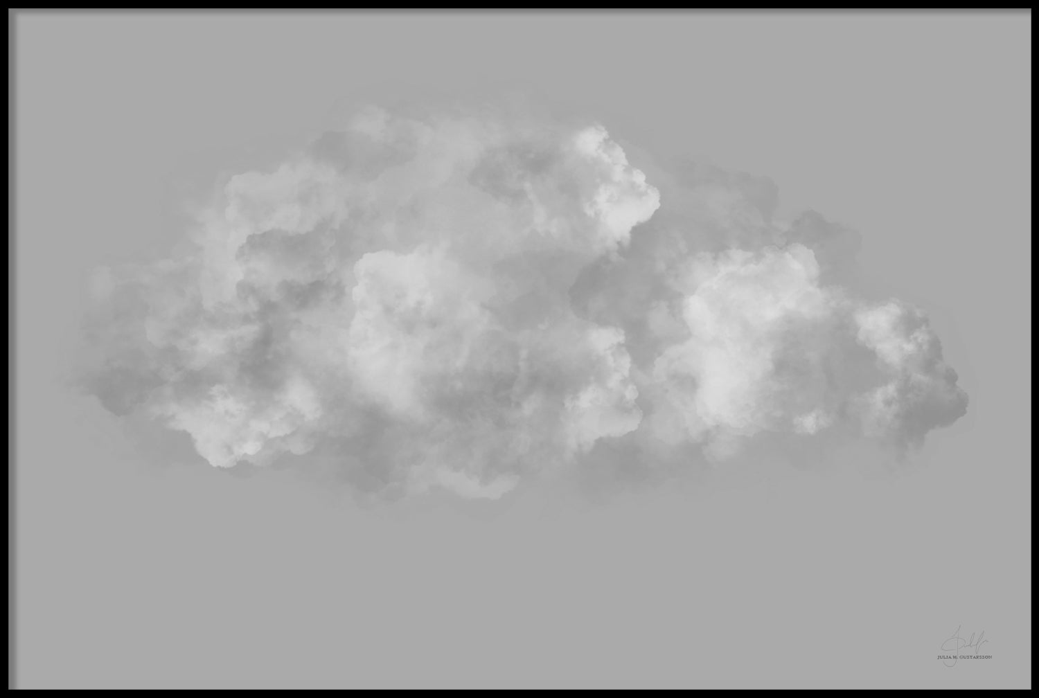 GREY CLOUD POSTER