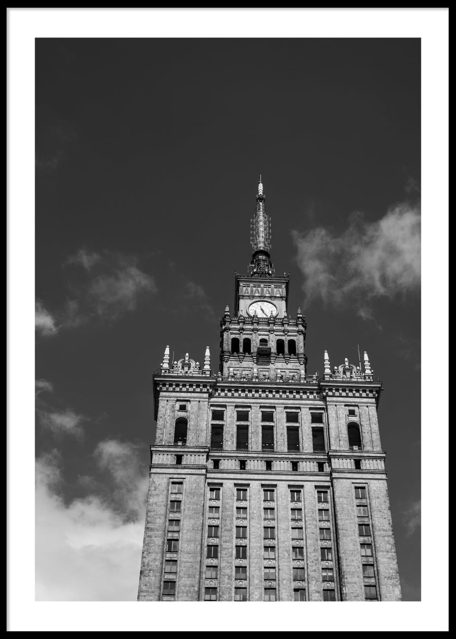 PALACE OF CULTURE AND SCIENCE POSTER