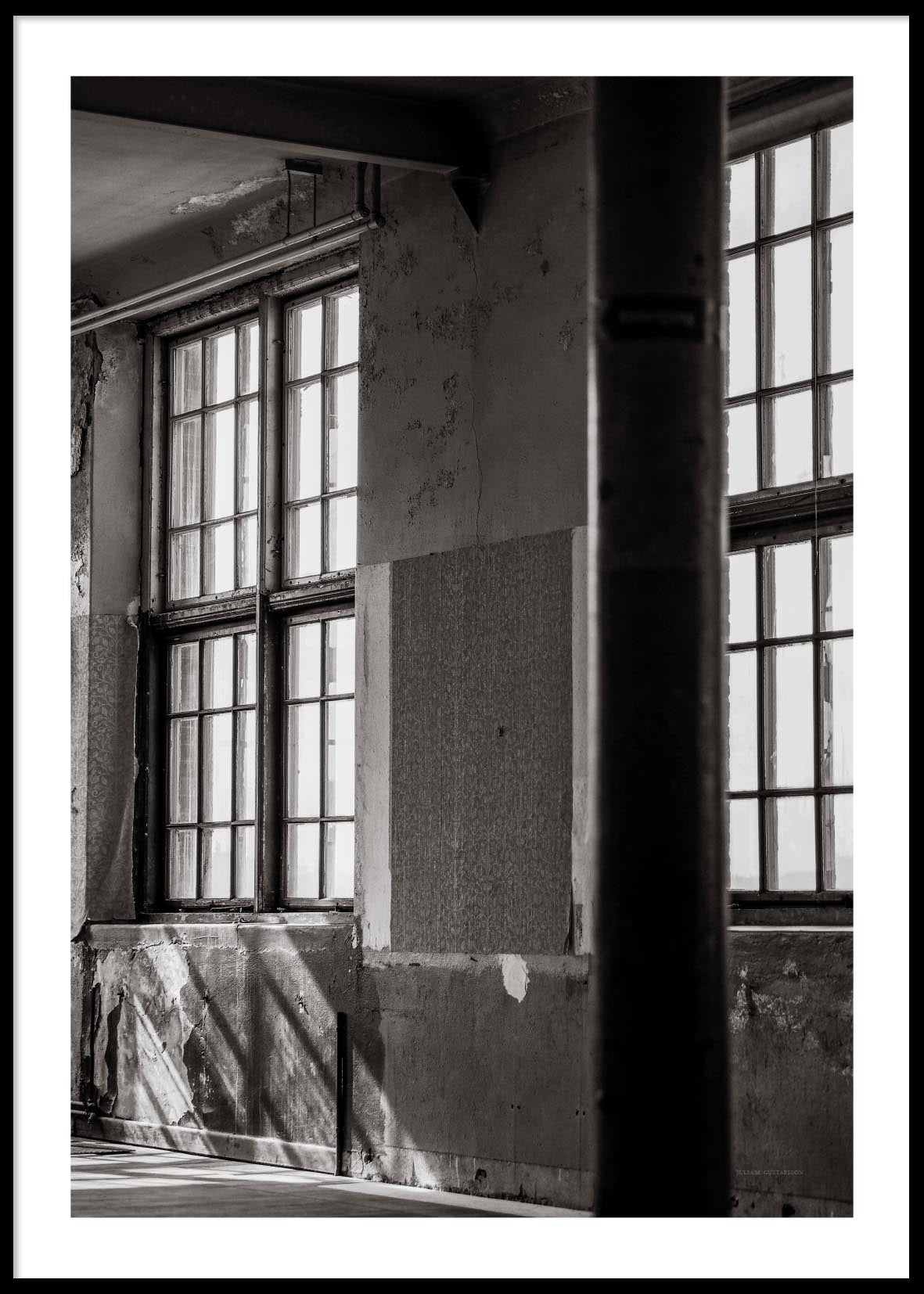 INDUSTRIAL WINDOWS POSTER