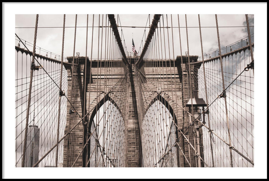 BROOKLYN BRIDGE NEW YORK POSTER