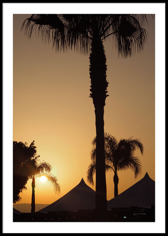 SUNSET MARBELLA POSTER