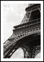 PARIS EIFFEL TOWER CLOSE UP POSTER