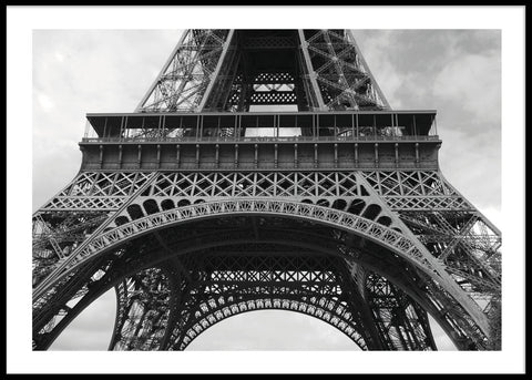 EIFFEL TOWER CLOSE UP #2 POSTER