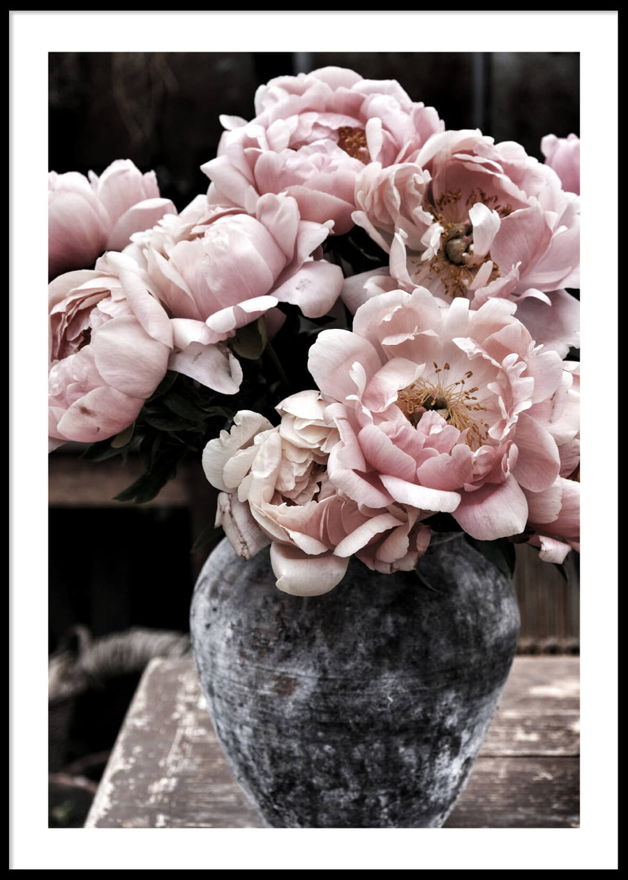 LIGHT PINK FLOWERS POSTER