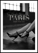 PARIS HIGH HEELS POSTER