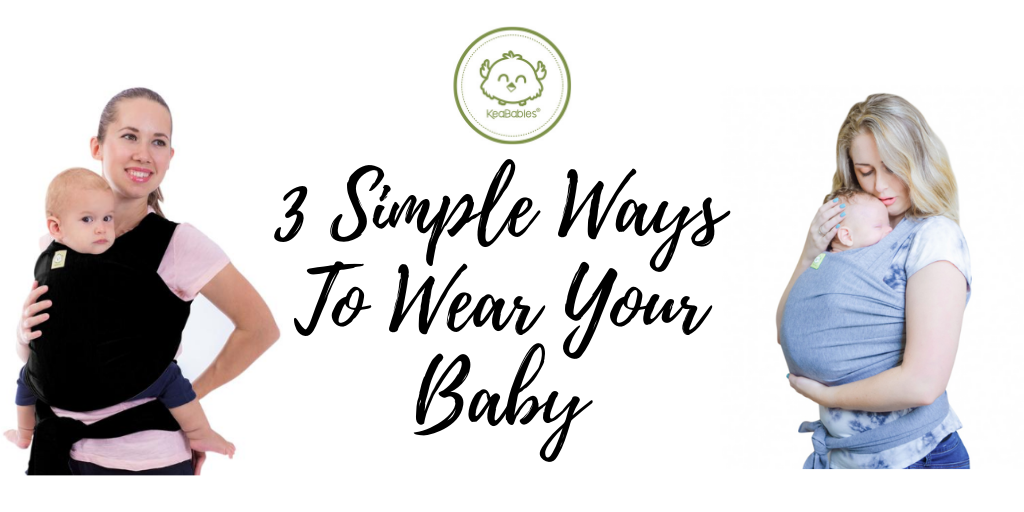 3 Simple Ways To Wear Your Baby 👶🏻