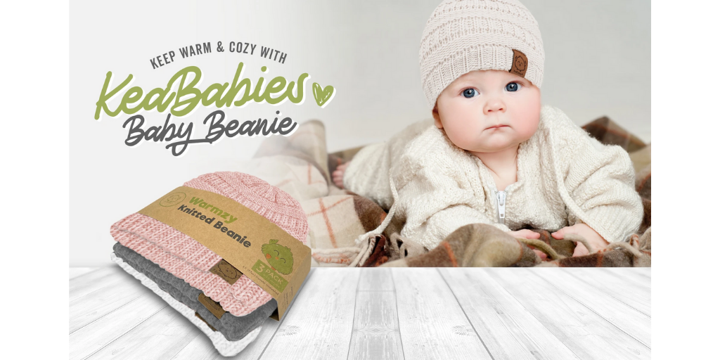 Staying Cozy And Warm With The All-New KeaBabies Beanies