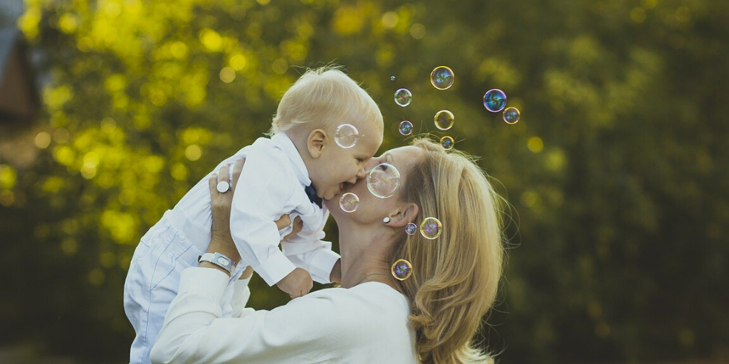 Building Your Baby's Skills With Bubbles