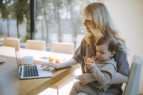 stay at home parent