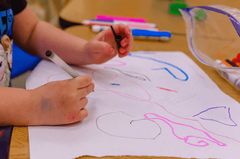 toddler color creativity