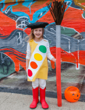 paint palette costume