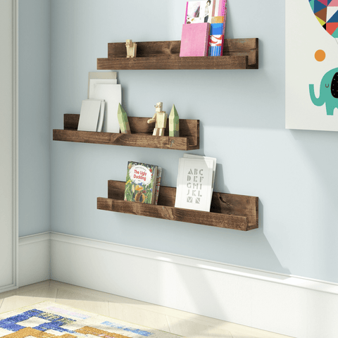 book shelf wall mount