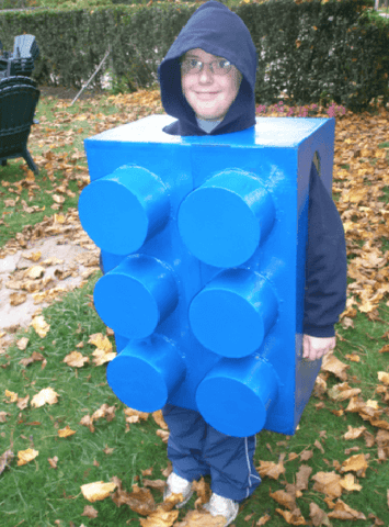 building block costume