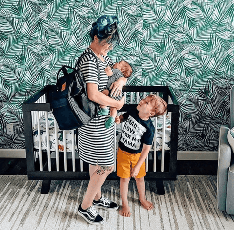 postpartum outfit for moms