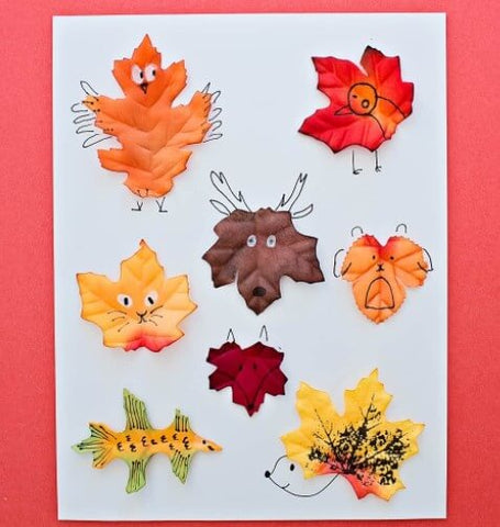 leaf animal craft