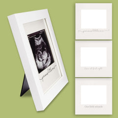 sonogram frame baby shower gift