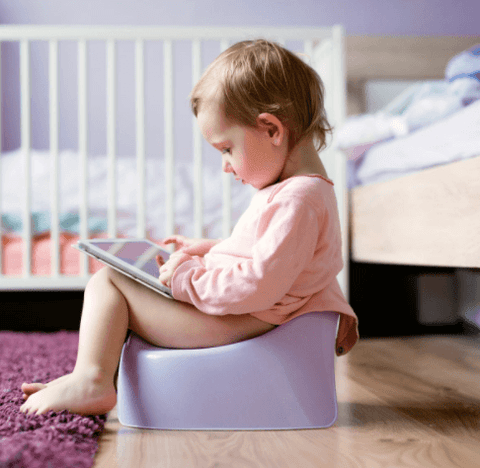 toddler potty train