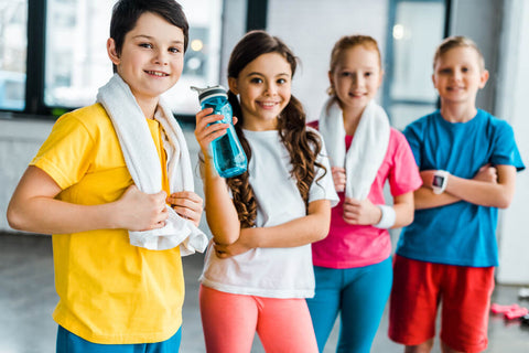 kids after exercise