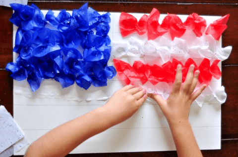 Toddlers Fourth of July Crafts