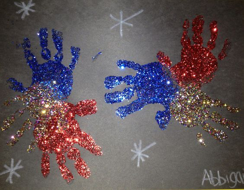 Patriotic Handprint Crafts